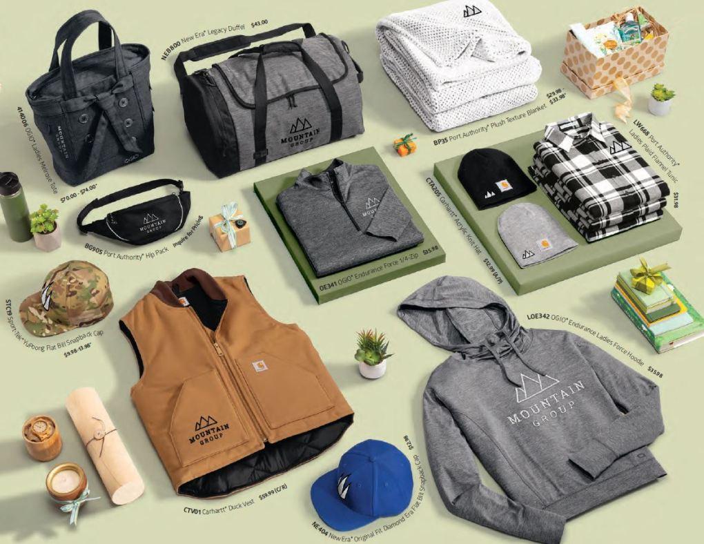 brand merchandise ideas